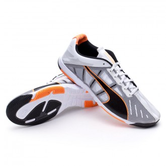 Zapatilla  Puma Neon Lite 2.0 White-Black-Fluor flash orange