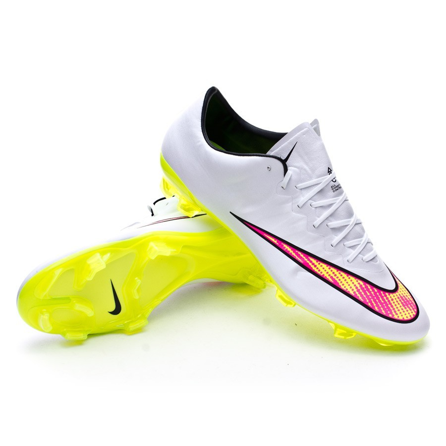 boot nike mercurial vapor x fg acc white volt black hyper pink. Black Bedroom Furniture Sets. Home Design Ideas