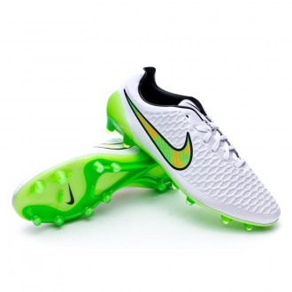 Bota  Nike Magista Opus FG ACC White-Poison green-Black-Total orange
