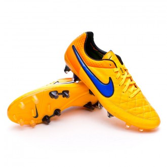 Chuteira  Nike Tiempo Legend V FG ACC Laser orange-Persian violet-Total orange