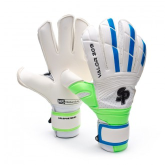 Guante  Soloporteros Valor 309 CHR Iconic Reverse Blanco-Verde-Azul