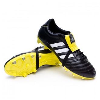 Boot  adidas Gloro FG Black-White-Bright yellow