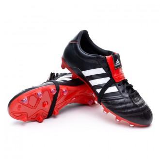 Boot  adidas Gloro FG Black-White-Vivid red