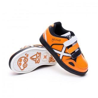 Chaussure  Munich Jr Game Vco Orange-Blanc-Noir