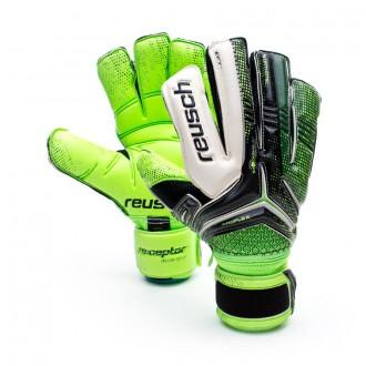 Glove  Reusch Receptor Deluxe G2 Ortho-Tec Green-Black
