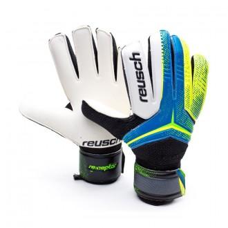 Glove  Reusch Receptor SG White-Blue