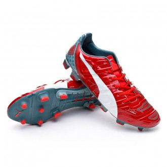 Boot  Puma evoPOWER 1.2 Graphic FG High risk red-White-Sea pine