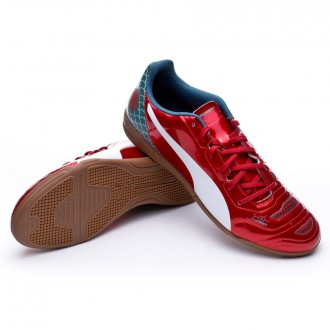 Zapatilla  Puma evoPOWER 4.2 Graphic IT High risk red-White-Sea pine