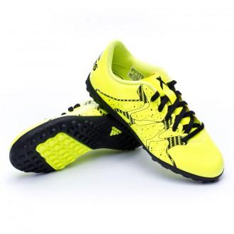 Bota  adidas Jr X 15.4 Turf Solar yellow-Core Black-Frozen yellow