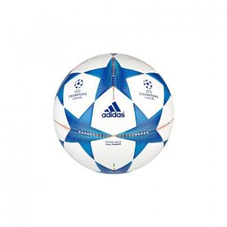 Ballon  adidas Finale 15 Sala Training 58 cms White-Bright cyan-Bright blue