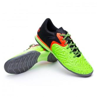 Chaussure  adidas X 15.2 CT Core black-Flash red-Solar green