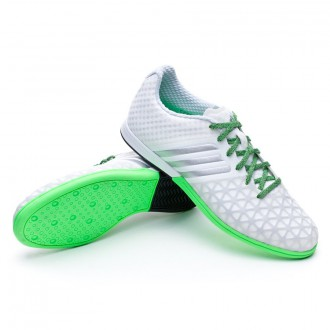 Chaussure  adidas Ace 15.1 CT White-Silver metallic-Flash green