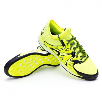 Chaussure  adidas X 15.1 Boost Solar yellow-Core black-Frozen yellow