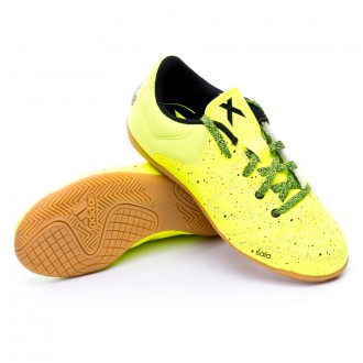 Chaussure  adidas Jr X 15.3 CT Solar yellow-Core black