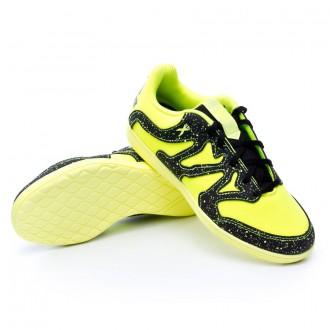 Chaussure  adidas Jr X 15.4 ST Solar yellow-Core black-Frozen yellow