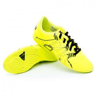 Chaussure  adidas Jr X 15.4 IN Solar yellow-Solar yellow-Core black