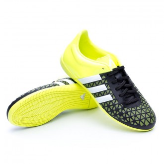Chaussure  adidas Jr Ace 15.3 IN Core black-White-Solar yellow