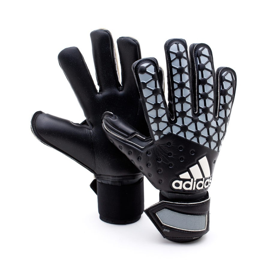glove adidas ace pro classic black solid grey white. Black Bedroom Furniture Sets. Home Design Ideas