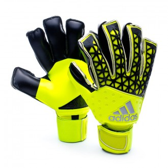 Luvas  adidas Ace Fingersave Allround Solar yellow-Semi solar yellow-Black