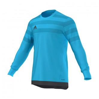 T-Shirt  adidas Entry 15 Bright cyan-Dark grey
