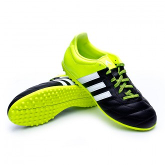 Bota  adidas Jr Ace 15.3 Turf Piel Solar yellow-White-Core black