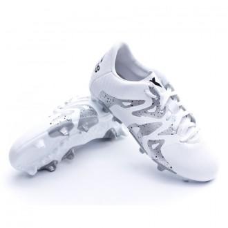 Bota  adidas Jr X 15.3 FG/AG White