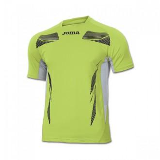 Maillot  Joma M/C Elite III Verde Lima