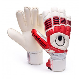 Guante  Uhlsport Eliminator Soft Supporframe Blanco-Rojo