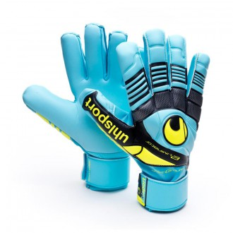 Guante  Uhlsport Eliminator Soft HN Comp Cyan-Amarillo