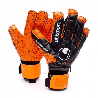 Luvas  Uhlsport Ergonomic360 Supergrip Bionik+ X-Change Laranja-Preto