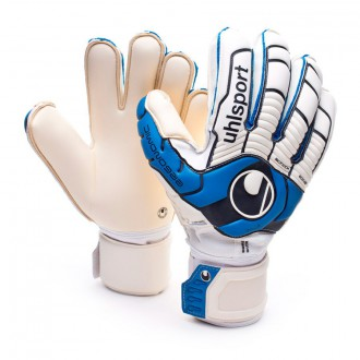 Guante  Uhlsport Ergonomic360 Absolutgrip Bionik+ Blanco-Azul