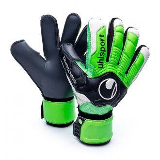 Guante  Uhlsport Ergonomic360 Super Graphit Negro-Verde