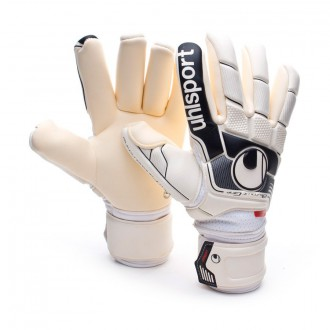 Guante  Uhlsport Fangmaschine Absolutgrip Finger Surround Blanco-Gris