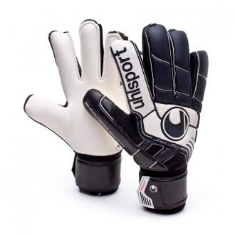 Guante  Uhlsport Pro Comfort Textile Negro-Blanco