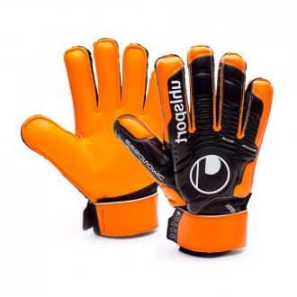 Guante  Uhlsport Jr Ergonomic Soft Supporframe Naranja-Negro