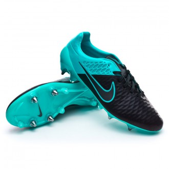 Chaussure  Nike Magista Opus ACC Tech Craft SG-Pro Black-Turquoise-Blue lagoon