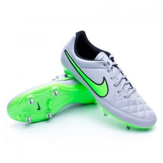 Bota  Nike Tiempo Genio Leather SG Wolf grey-Green strike-Black