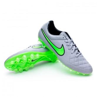 Chuteira  Nike Tiempo Legacy AG-R Wolf grey-Green strike-Black