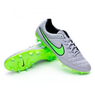 Bota  Nike Tiempo Legacy FG Wolf grey-Green strike-Black
