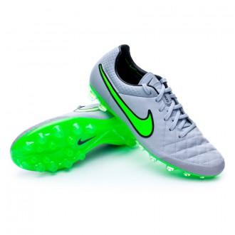 Chuteira  Nike Tiempo Legend V ACC AG-R Wolf grey-Green strike-Black