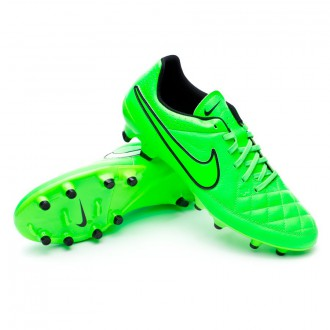 Chuteira  Nike Tiempo Genio Leather FG Green strike-Black