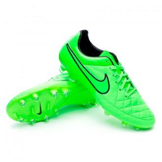 Bota  Nike Tiempo Legacy FG Green strike-Black