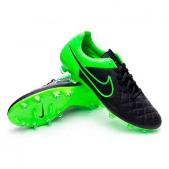 Bota  Nike Tiempo Legacy FG Black-Green strike