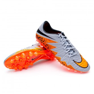 Chuteira  Nike Hypervenom Phatal II AG-R Wolf grey-Total orange-Black