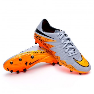 Bota  Nike Hypervenom Phelon II FG Wolf grey-Total orange-Black