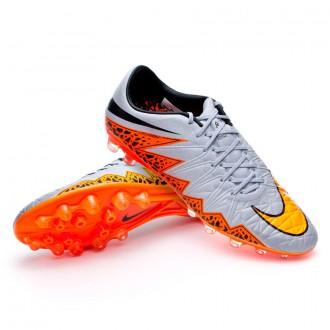 Chaussure  Nike Hypervenom Phinish ACC AG-R Wolf grey-Total orange-Black