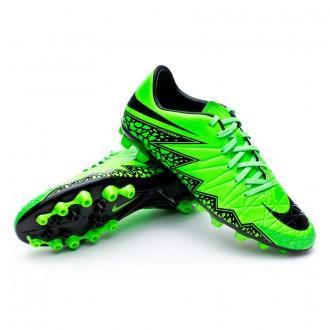 Chaussure  Nike Hypervenom Phelon II AG-R Green strike-Black-Volt