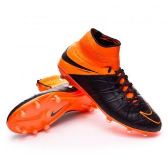 Bota  Nike Hypervenom Phantom II ACC Tech Craft FG Black-Total orange