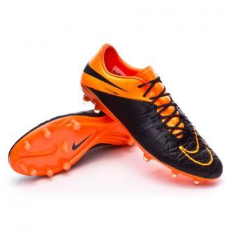 Bota  Nike Hypervenom Phinish ACC Tech Craft FG Black-Total orange