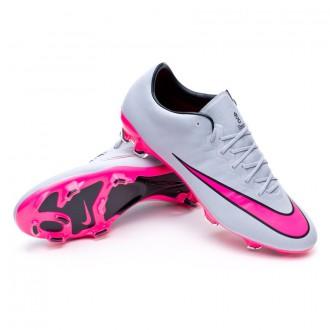 Chaussure  Nike Mercurial Vapor X ACC FG Wolf grey-Hyper pink-Black